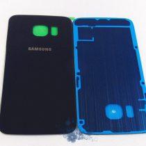 Samsung Galaxy S6 ✪ stakleni poklopac baterije ✪ BIJELI / TAMNO PLAV ✪