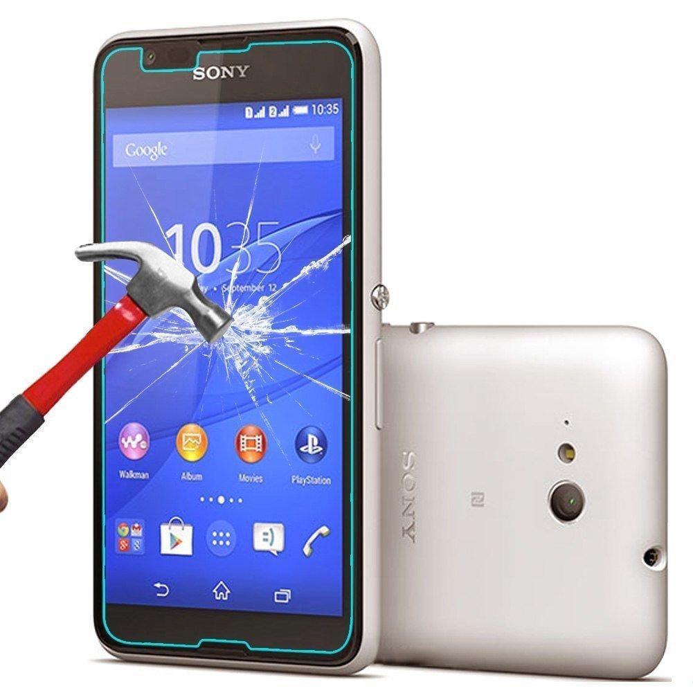 Zaštitno kaljeno staklo Sony Xperia E4G zaobljeno - 0,3mm debljina