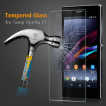 Zaštitno kaljeno staklo Sony Xperia Z1 zaobljeno - SAMO 0,3mm debljina