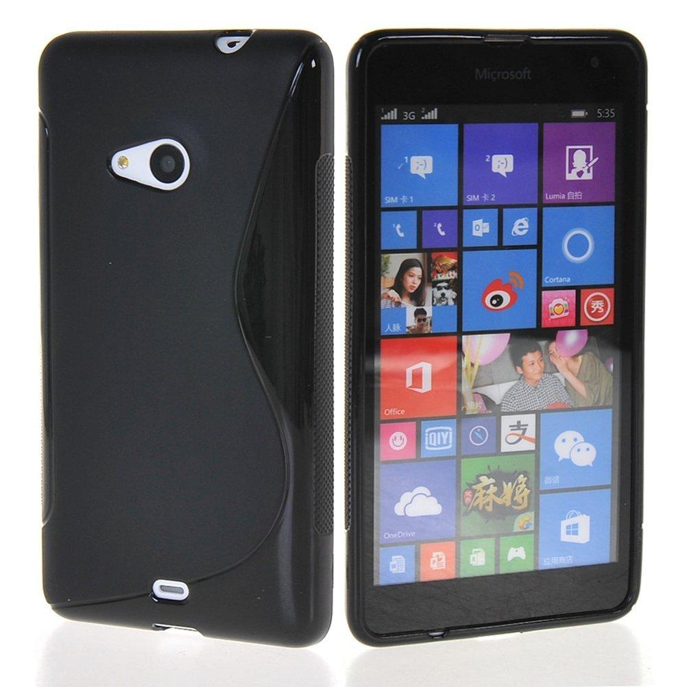 Microsoft Nokia Lumia 535 - Crna S - Line maskica