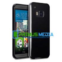 HTC M9 CRNA tanka TPU gel zaštitna maskica