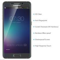 Zaštitno kaljeno staklo Samsung GALAXY NOTE 5 zaobljeno - SAMO 0,3mm