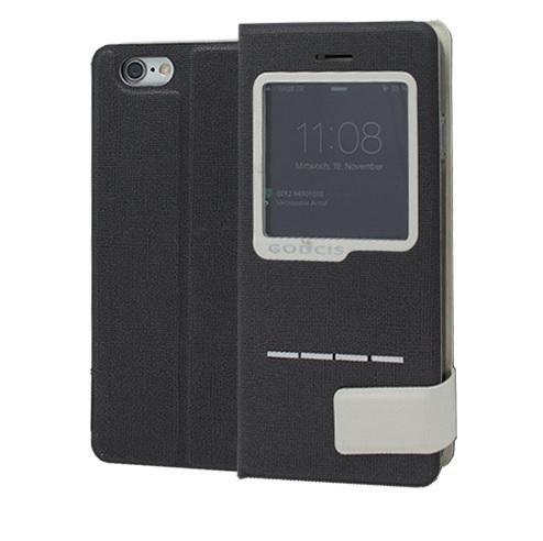 Book Case CORSAIR View za Apple iPhone 6 Plus CRNA + FOLIJA GRATIS