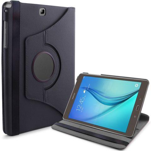 "ROTIRAJUĆA torbica 360 CRNA za Samsung Galaxy Tab A 9.7"" + STYLUS OLOVKA GRATIS!"