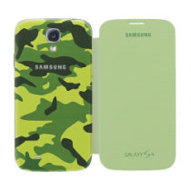 Samsung i9505 Galaxy S4 Flip torbica EF-FI950MIMETICA Original ZELENA