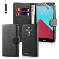 LG G4 Stylus BOOK STYLE TORBICA HQ + FOLIJA - 3 BOJE