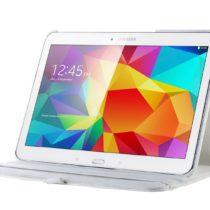 "BIJELA ROTIRAJUĆA torbica 360 za Samsung Galaxy Tab 4 10.1"" T530/535 + STYLUS"