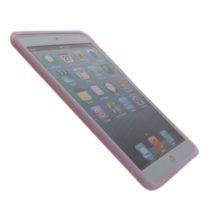 iPad mini 1, 2, 3, TPU gel zaštitna maskica - ROZA + FOLIJA GRATIS! - POVOLJNO!