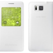 Samsung S-View torbica za Samsung Galaxy Alpha ORIGINAL - bijela