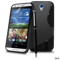 HTC Desire 620 - Crna S Line gel maskica NOVO!