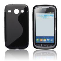 SAMSUNG I8260 Galaxy Core Crna ili prozirna S- Line maskica + FOLIJA