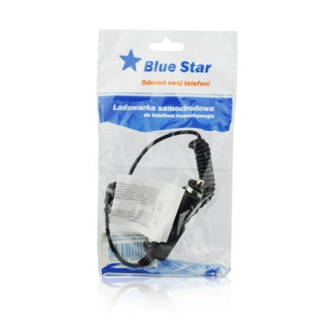 Auto punjač sa MICRO USB spiralnim kablom 1A (UNIVERSAL) BLUE STAR