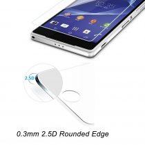 Zaštitno kaljeno staklo Sony Xperia Z3 zaobljeno - SAMO 0,3mm debljina