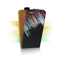 SLIM FLIP TORBICA za SONY Xperia Z1 Compact - PADAJUĆE ZVIJEZDE dizajn