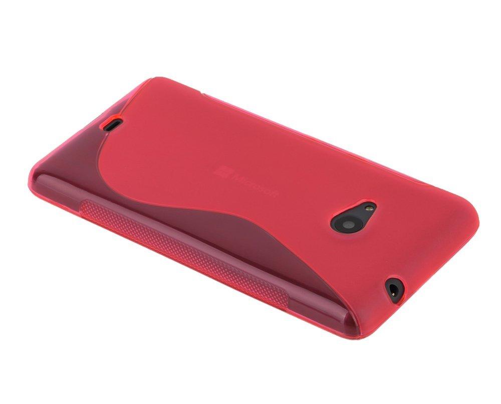 Microsoft Nokia Lumia 535 - ROZA - S - Line maskica + FOLIJA GRATIS