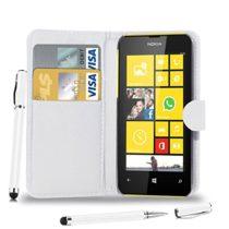 Microsoft Nokia Lumia 535 - PREKLOPNA FUTROLA Book style BIJELA