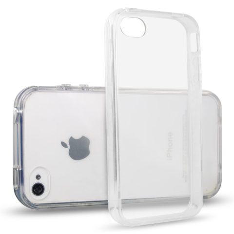 iPhone 4 / 4S kristalna prozirna TPU gel maskica - 49kn
