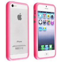 iPhone 5 color ROZA bumper + prednja i stražnja folija GRATIS!