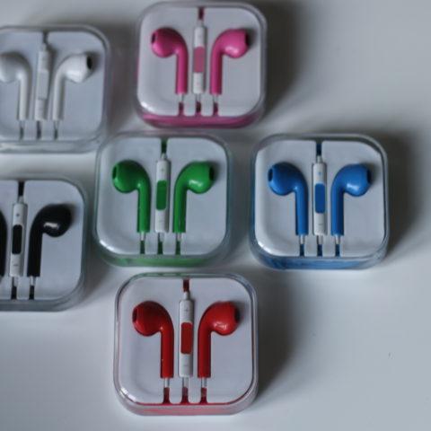 iPhone 4/5/6 EARPODS slušalice razne BOJE - NOVO!