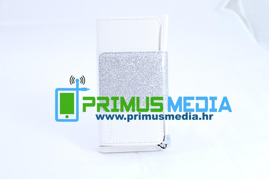 iPhone 4/5/6 GLITTER ekskluzivna torbica! Povoljno! +FOLIJA! BIJELA