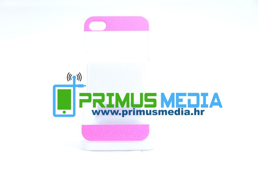 iPhone 4 / 4S 0,5mm TPU gel maskica GLAMME glitter! EKSKLUZIVNO!