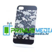 iPhone 4 / 4S 0,5mm TPU gel maskica GLAMME ČIPKA! EKSKLUZIVNO!