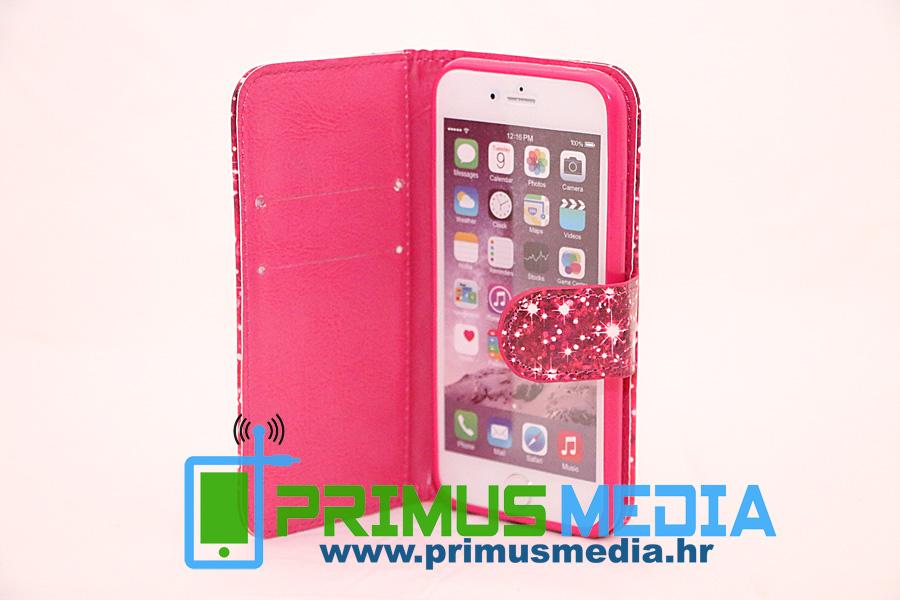 iPhone 6 torbica / novčanik PREMIUM koža i izrada KEEP CALM + folija