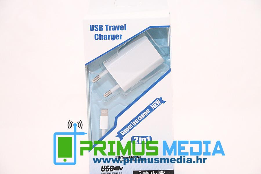 SET PUNJAČA za iPhone 5 / 5S / 6/ 6S/ 6+ kabel + punjač KVALITETNO