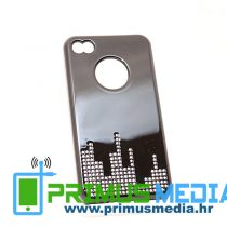 iPhone 4 (4S) DIJAMANT CITY crna + 2 FOLIJE GRATIS! POVOLJNO!