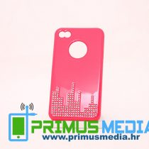 iPhone 4 (4S) DIJAMANT CITY roza + 2 FOLIJE GRATIS! POVOLJNO!