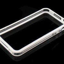 iPhone 4 (4S) color prozirni bumper+ prednja i stražnja folija GRATIS!