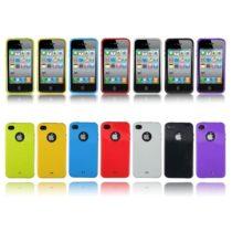 iPhone 4 (4S) TPU GEL maskica GELLY + zaštitna folija gratis