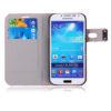 Samsung Galaxy S4 S IV book futrola sa pretincem za kartice + FOLIJA - BIJELA