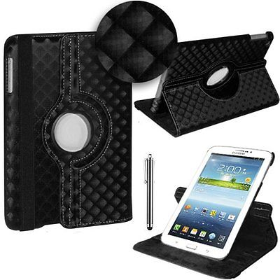 "3 u 1: ROTIRAJUĆA torbica za Samsung Galaxy Tab 3 7"" + STYLUS + FOLIJA"