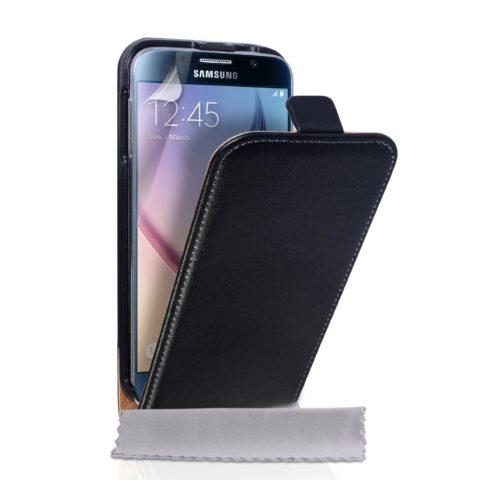Samsung Galaxy S6 SLIM FLIP TORBICA - CRNA - POVOLJNO!