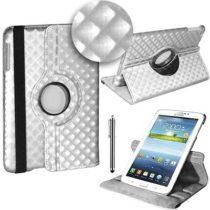 """3 u 1: ROTIRAJUĆA torbica za Samsung Galaxy Tab 3 7"""" + STYLUS + FOLIJA (bijela)"""