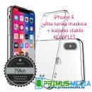 iPhone X / 10 maskica + kaljeno staklo KOMPLET: SAMO 79KN!