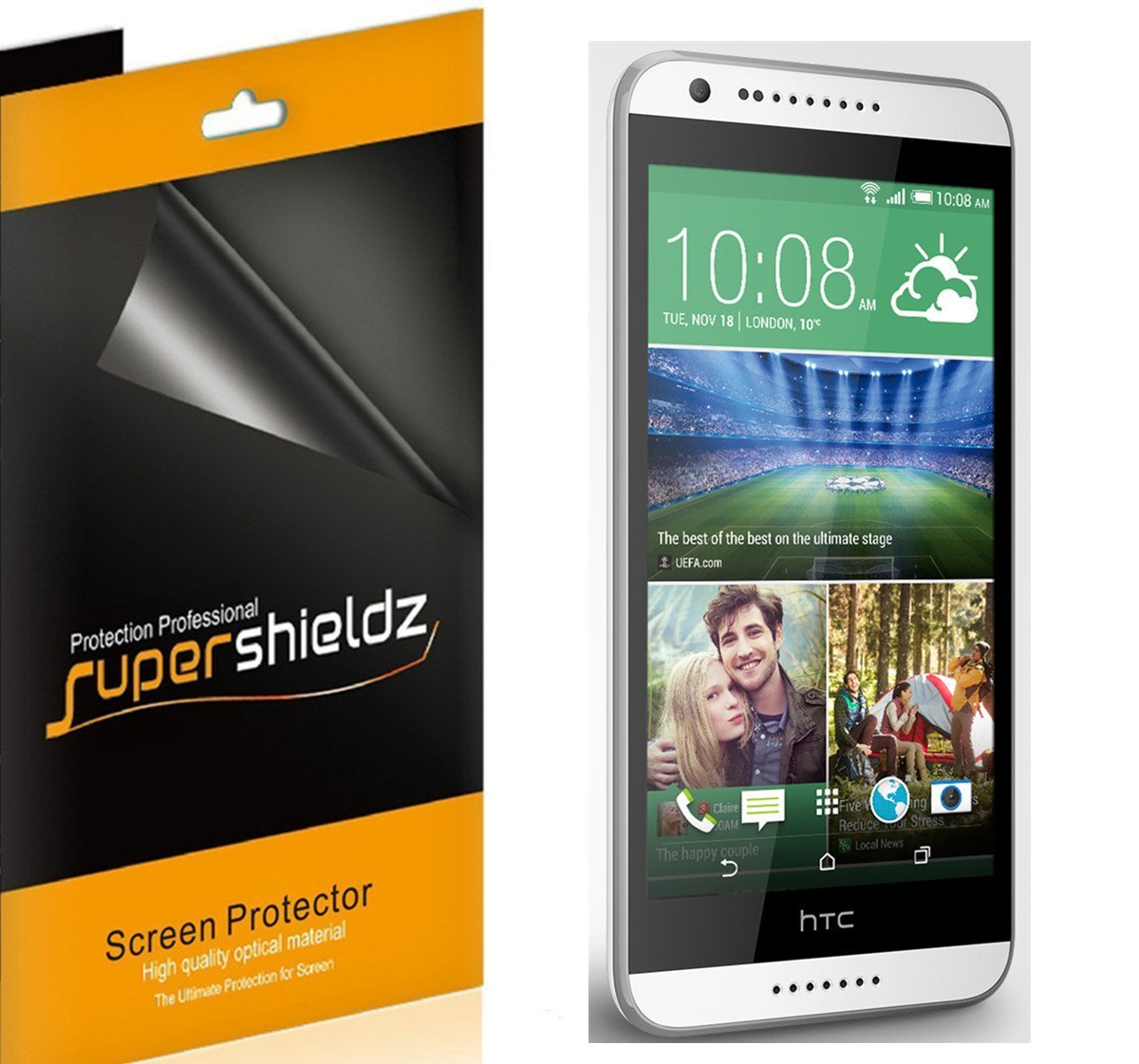 HTC desire 820 ZAŠTITNA FOLIJA za ekran HD crystal