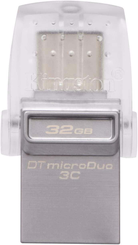 32GB Kingston Datatraveler USB 3.1 Type-C 3C (DTDUO3C/32GB)