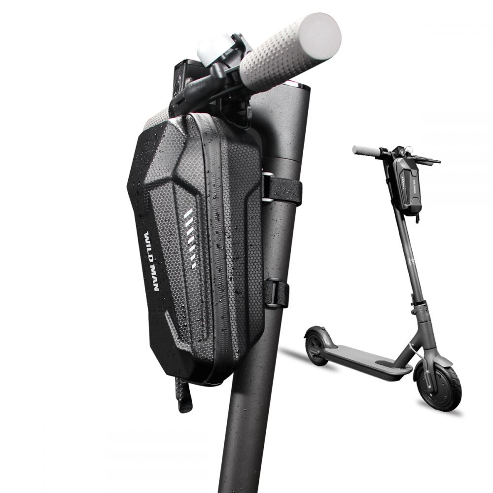 "Vodootporna WILDMAN torbica za elektro bicikl ""L"" crna"